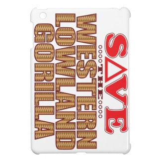 Lowland Gorilla Save iPad Mini Covers