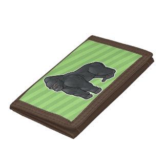 Lowland Gorilla Tri-fold Wallet