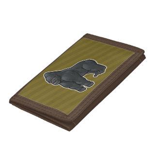 Lowland Gorilla Trifold Wallet