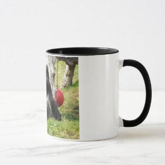 Lowland silverback gorilla walking mug