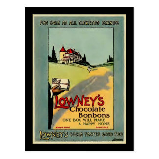 Lowney's Cocoa Postcard