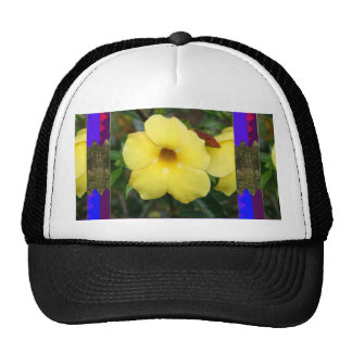 LowPRICE Elegant Gifts ORCHID Flower Yellow Bright Hats