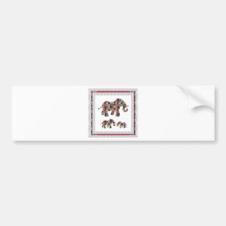 LowPRICE SpecialSIZES Cards NVN480 ELEPHANT ANIMAL Car Bumper Sticker