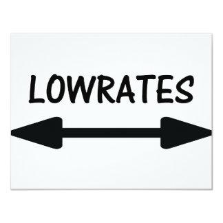 lowrates arrow icon card