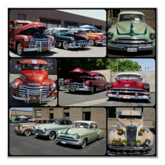 Lowrider Bombs Collage Poster