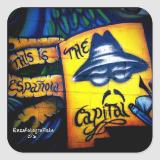 Lowrider Capital Square Sticker