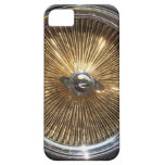 Lowrider Gold Wire Wheels Smartphone Cover iPhone 5 Cases