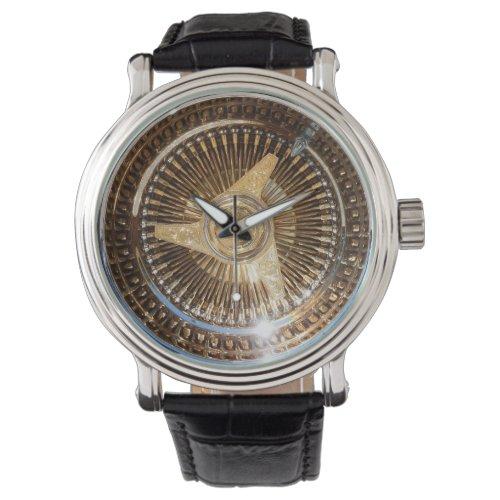 Lowrider Low Rider Wire Wheels Wrist Watch