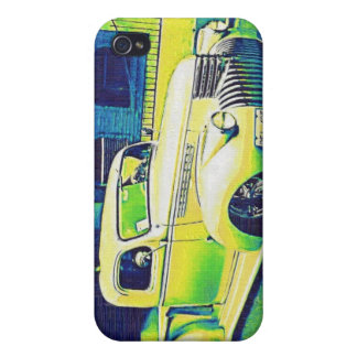 Lowrider Vintage Auto iPhone 4 Cover