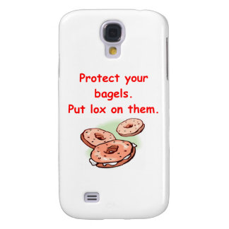 lox and bagels samsung galaxy s4 case