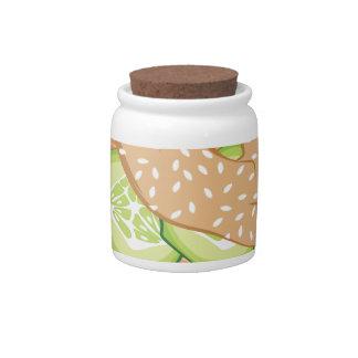 Lox & Bagel Candy Jar