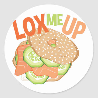 Lox Me Up Classic Round Sticker