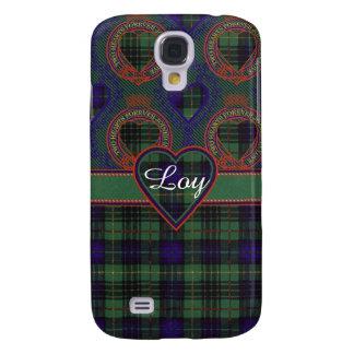 Loy clan Plaid Scottish kilt tartan Samsung Galaxy S4 Cover