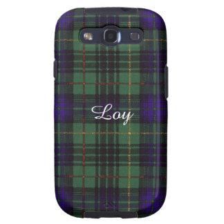 Loy clan Plaid Scottish kilt tartan Samsung Galaxy SIII Covers