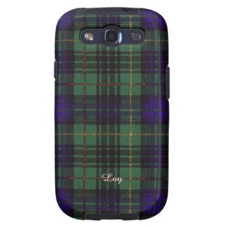 Loy clan Plaid Scottish kilt tartan Galaxy S3 Case