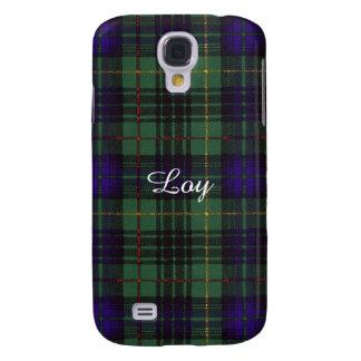 Loy clan Plaid Scottish kilt tartan Samsung Galaxy S4 Case