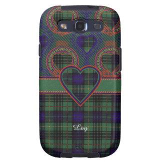 Loy clan Plaid Scottish kilt tartan Samsung Galaxy S3 Cases