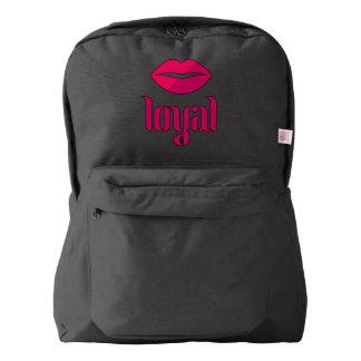 LOYAL Backpack, Black American Apparel™ Backpack