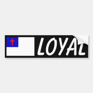 Loyal Car Bumper Sticker
