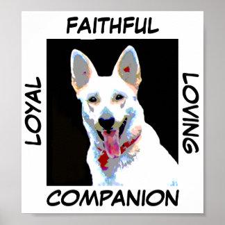 Loyal Companion Print