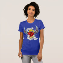 Loyal Heart on Fire T-Shirt
