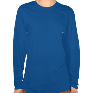 LOYAL in Team Colors Blue and White  Shirt