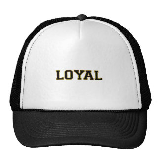 LOYAL in Team Colors Bronze and Black  Hat