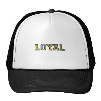 LOYAL in Team Colors Navy and Gold  Hat