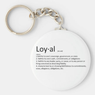 Loyal Keychain