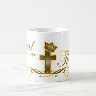 Loyal to the Throne Christian mug