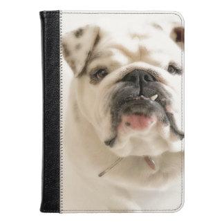 Loyal White Bulldog Photograph Kindle Case