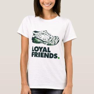 Loyal Worn Running Shoes T-Shirt