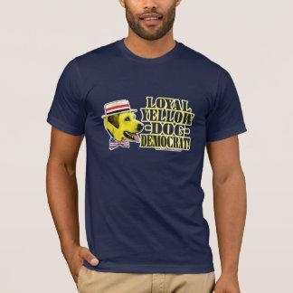 Loyal Yellow Dog Democrat Shirt