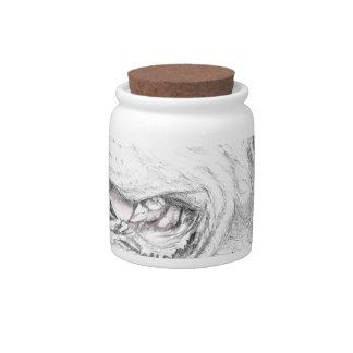 Loyalty, An American Staffordshire Terrier Candy Jar