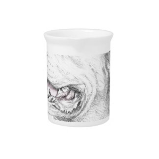 Loyalty, An American Staffordshire Terrier Drink Pitchers