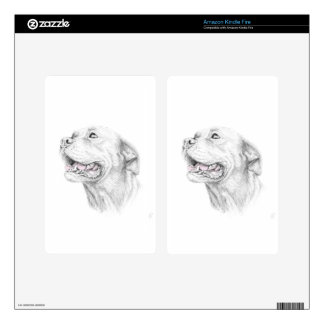 Loyalty, An American Staffordshire Terrier Kindle Fire Skin