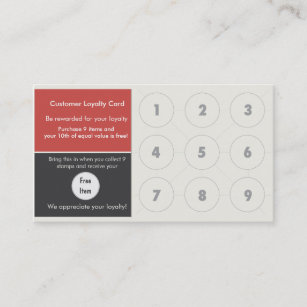 Bagel business cards templates zazzle loyalty business card stamp card reheart Images
