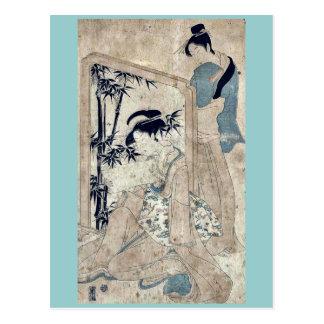 Loyalty by Utagawa, Toyokuni Ukiyoe Postcard