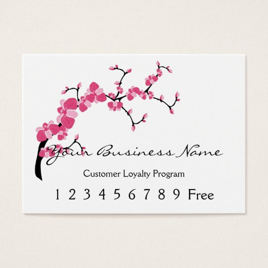 Loyalty Card :: Cherry Blossom Tree Branch