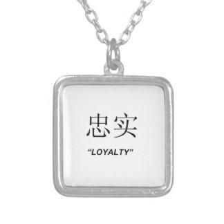"""""""Loyalty"""" Chinese symbol jewelry set"""