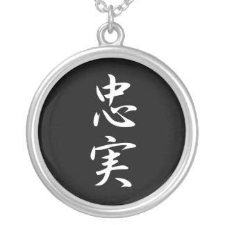 Loyalty - Chuujitsu Silver Plated Necklace