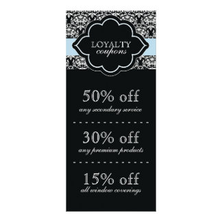 Loyalty Coupon Cards Custom Rack Cards