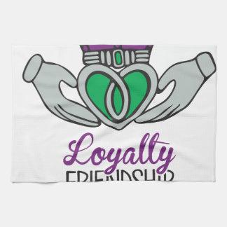 Loyalty Friendship Love Hand Towel