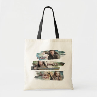 Loyalty, Honor, A Willing Heart Budget Tote Bag