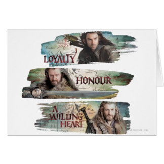 Loyalty, Honor, A Willing Heart Greeting Card