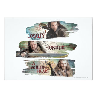 Loyalty, Honor, A Willing Heart Card