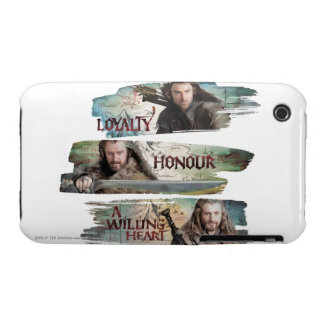 Loyalty, Honor, A Willing Heart iPhone 3 Case-Mate Cases
