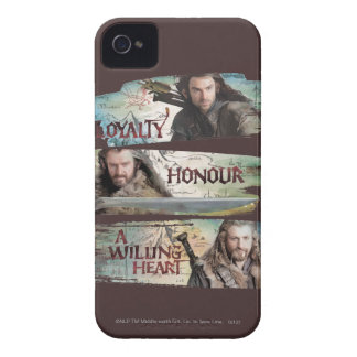 Loyalty, Honor, A Willing Heart iPhone 4 Case