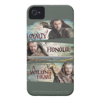 Loyalty, Honor, A Willing Heart iPhone 4 Case-Mate Case