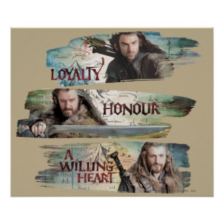 Loyalty, Honor, A Willing Heart Print